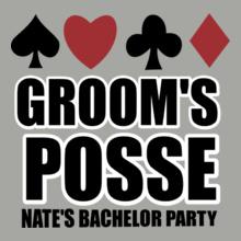 GROOM%S-POSSE T-Shirt