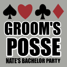 Bachelor Party GROOM%S-POSSE T-Shirt