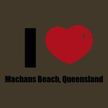 Cairns Machans-Beach%C-Queensland T-Shirt