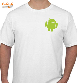 Small Android - T-Shirt
