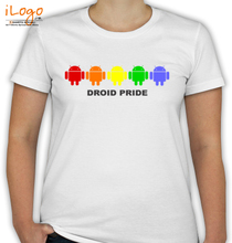 ANDROID Android-Pride T-Shirt
