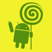 ANDROID Android-Lollipop T-Shirt