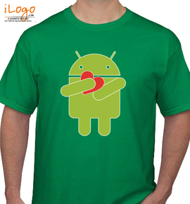 Android Heart - T-Shirt
