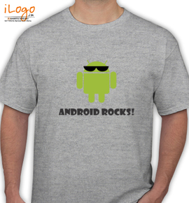 Android Rocks - T-Shirt