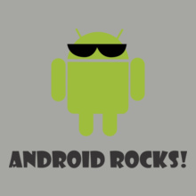 ANDROID Android-Rocks T-Shirt