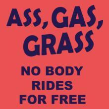 No-Body-Grass T-Shirt