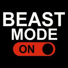 GYM  Beast-Mode-on T-Shirt