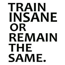GYM  Train-insane- T-Shirt