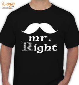 mr right - T-Shirt