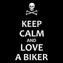 Biker By Choice Love-biker T-Shirt