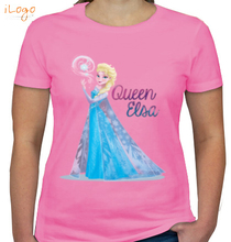 Elsa elsa-queen-frozen T-Shirt