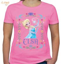 Elsa elsa-with-border T-Shirt