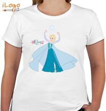 Elsa flower-elsa T-Shirt