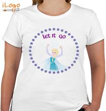 Elsa let-it-go T-Shirt