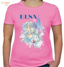 Elsa princess-elsa- T-Shirt