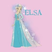 Elsa princess-elsa- T-Shirt