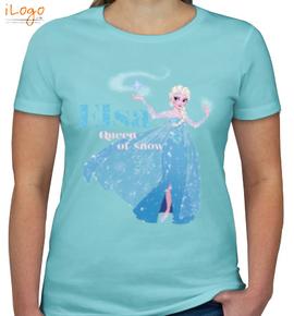 princess-elsa - Girls T-Shirt