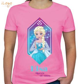 queen-elsa - Girls T-Shirt