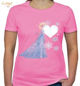 snow-queen-elsa - Girls T-Shirt