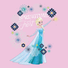 Elsa spring-time-frost- T-Shirt
