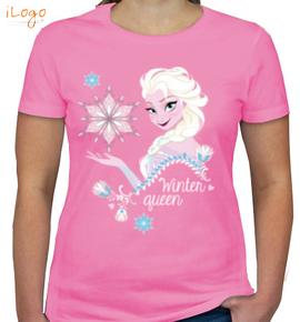 winter-queen - Girls T-Shirt