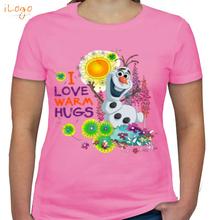 Olaf i-love-warm-hugs T-Shirt