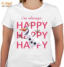 Olaf im-always-happy T-Shirt