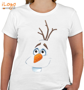 olaf-face - Girls T-Shirt