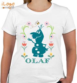 olaf-clipart - Girls T-Shirt