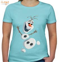 Olaf olaf-in-pieces T-Shirt