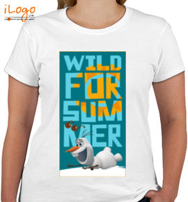 olaf-wild-for-summer-%% - Girls T-Shirt