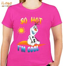 Olaf SO-HOT-Im-cool T-Shirt