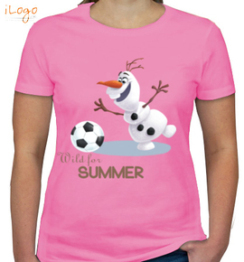 wild-for-summer-olaf - Girls T-Shirt