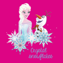 Group crystal-snowfall-elsa T-Shirt