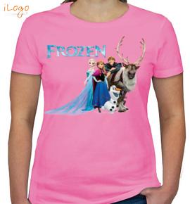 frozen-family - Girls T-Shirt