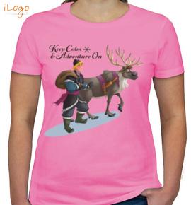 kristoff-%-sven - Girls T-Shirt