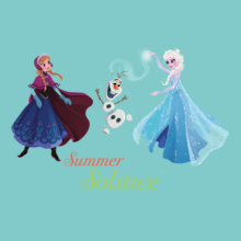 Group olaf-elsa-summer-solstice T-Shirt