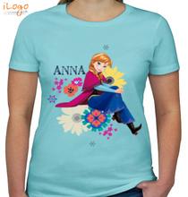 Anna anna-on-flowers T-Shirt