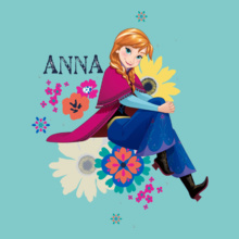 Anna anna-on-flowers T-Shirt