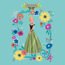 Anna anna-with-butterfly T-Shirt