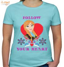 Anna follow-your-heart T-Shirt