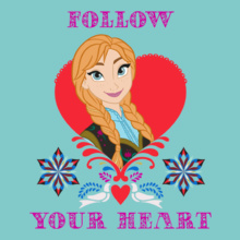 Anna follow-your-heart T-Shirt
