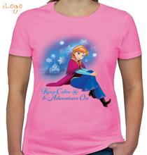 Anna keep-calm-adventure-on T-Shirt