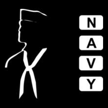 Navy NAVY-SAILOR- T-Shirt