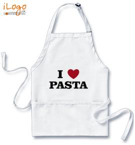 i-love-pasta - Custom Apron
