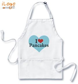 i-love-pancakes - Custom Apron