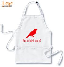 Popular Aprons put-a-bird-on-it T-Shirt