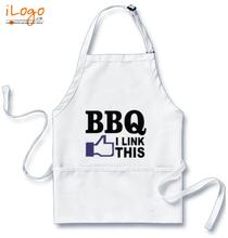 Popular Aprons bbq-i-link-this T-Shirt