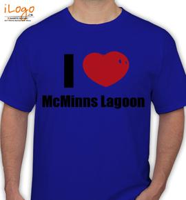 McMinns Lagoon - T-Shirt