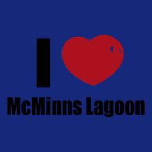 Darwin McMinns-Lagoon T-Shirt